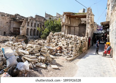 Aleppo in the North Of Syria after ISIS was defeated in November 2020