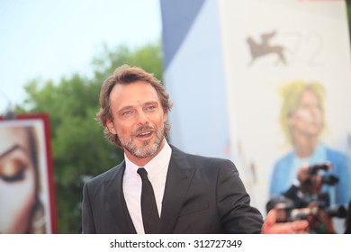 Alessandro Preziosi attend the opening ceremony and premiere of 'Everest' during the 72nd Venice Film Festival on September 2, 2015 in Venice, Italy.