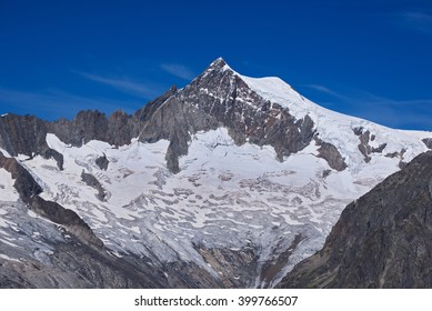 Aletschhorn and Aletschgletscher, view from Eggishorn