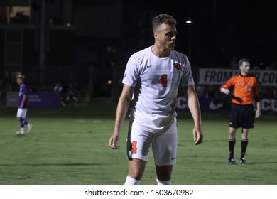 Alex Cover defender for the Oregon State University Beavers at GCU Soccer Stadium in Phoenix, Arizona/USA September 12,2019.