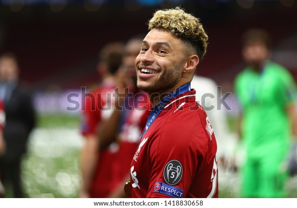 Alex Oxlade-Chamberlain of Liverpool - Tottenham Hotspur v Liverpool, UEFA Champions League Final 2019, Wanda Metropolitano Stadium, Madrid - 1st June 2019
