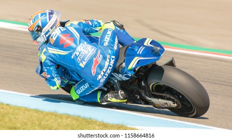 Alex Rins during MotoGP Motul TT Assen race in TT Circuit Assen (Assen - Netherlands) on June 30 2018
