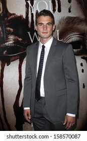 """Alex Russell at the """"Carrie"""" Los Angeles Premiere, Arclight, Hollywood, CA 10-07-13"""