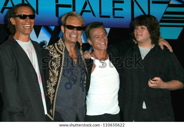 Alex Van Halen David Lee Roth Stock Photo Edit Now 110650622