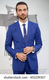 Alexander DiPersia at the Los Angeles premiere of 'Lights Out' held at the TCL Chinese Theater in Hollywood, USA on July 20, 2016.