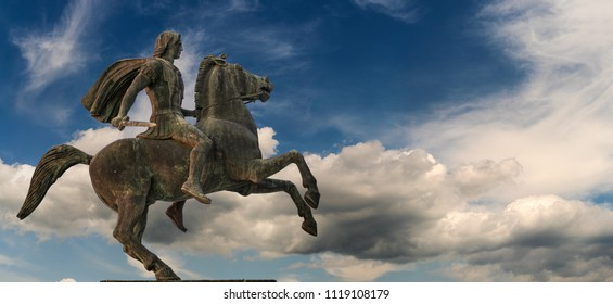 Alexander The Great at Thessaloniki City, Greece