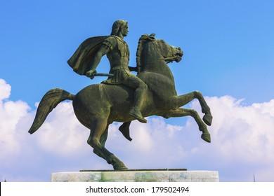 Alexander the Great ,Thessaloniki city,Greece