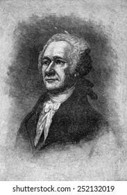Alexander Hamilton, 1755-1804