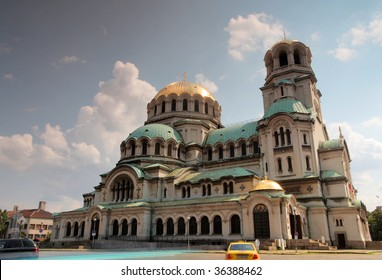 the alexander nevsky church in sofia, bulgaria