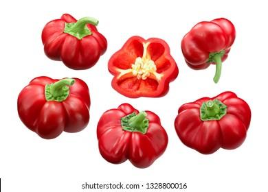 Alexander Pritamin Sweet Pepper or Paprika (Capsicum annuum), ripe pods