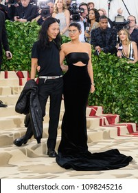 Alexander Wang and Kylie Jenner attend the 2018 Metropolitan Museum of Art Costume Institute Benefit Gala on May 7, 2018 at the Metropolitan Museum of Art in New York, New York, USA