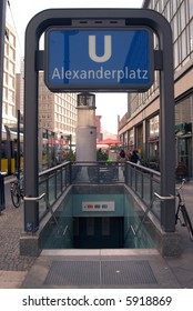 Alexanderplatz Subway Station, Berlin, Germany
