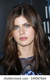 """Alexandra Daddario at the """"Percy Jackson: Sea of Monsters"""" Film Premiere, Americana at Brand, Glendale, CA 07-31-13"""