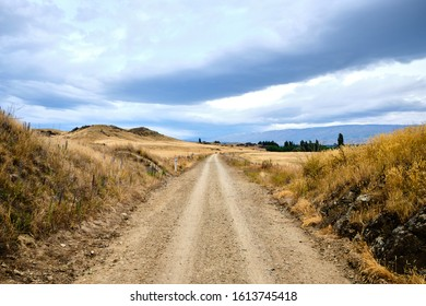Alexandra, New Zealand - December 29 2019: Otago Central Rail Trail Mountain Landscape - Shutterstock ID 1613745418