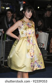 """Alexandra Roach arriving for the premiere of """"The Iron Lady"""" at the BFI, South Bank, London. 04/01/12  Picture by: Steve Vas / Featureflash"""