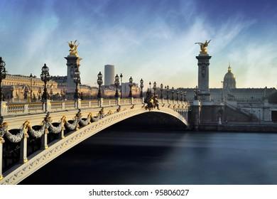Alexandre 3 Bridge - Paris - France