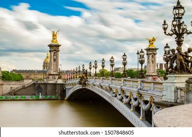 Alexandre bridge in Paris, France