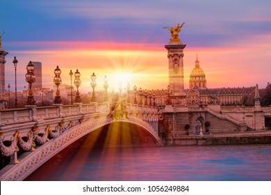 Alexandre III Bridge, Paris France