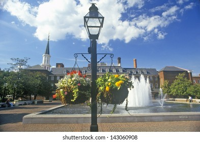Alexandria City Hall and Market Square in Old Town Alexandria, Alexandria, Washington, DC