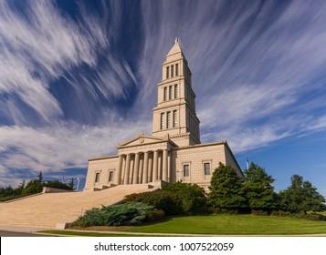 ALEXANDRIA, VIRGINIA, USA - OCTOBER 14, 2008: The George Washington Masonic National Memorial.