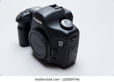 Alexandriya / Ukraine - October 12nd 2018 - The  Canon  5d DSLR Camera