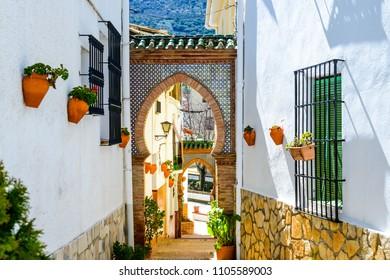 Alfarnate, Axarquia Costa del Sol, Malaga, Andalusia, Spain, Iberian Peninsula