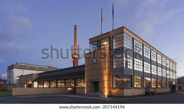 ALFELD, GERMANY - OCTOBER 24, 2013: The Fagus Factory in Alfeld, Germany
