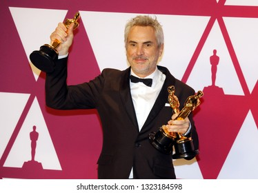 Alfonso Cuaron at the 91st Annual Academy Awards - Press Room held at the Hollywood and Highland in Los Angeles, USA on February 24, 2019.