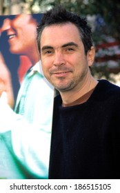Alfonso Cuaron, director, at premiere of Y TU MAMA TAMBIEN