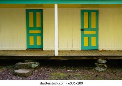 Alfred Reagan Cabin doors