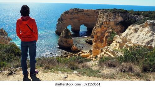 Algarve beaches. Portugal.