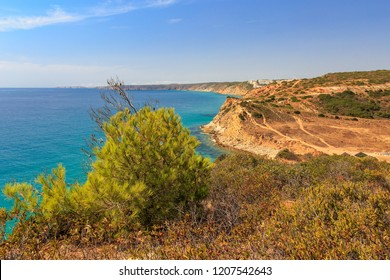 Algarve Coast at Boca do Rio between Salema and Burgau