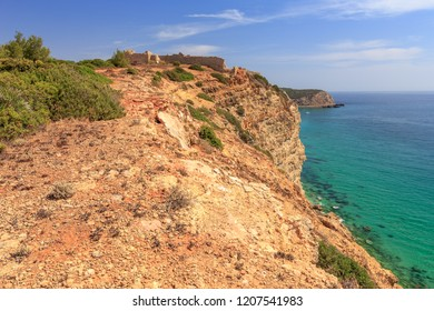 Algarve Coast at the Forte de Almadena near Burgau
