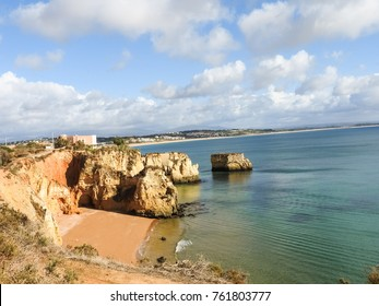 Algarve at Lagos one of the most beautiful landscapes in the world