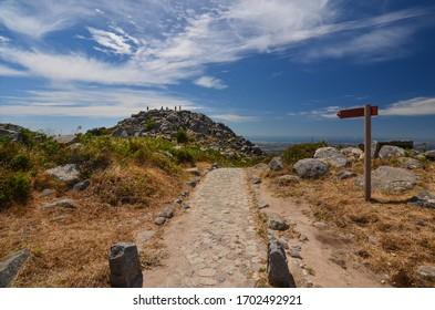 Algarve Monchique village, viewpoint Foia