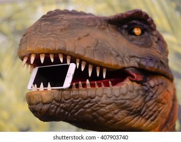 Digital Dinosaur Images, Stock Photos & Vectors | Shutterstock