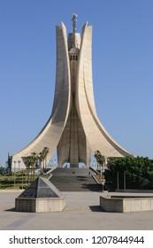 Alger, Algeria - 05/03/2015: The Maqam Echahid - Martyr's Memorial