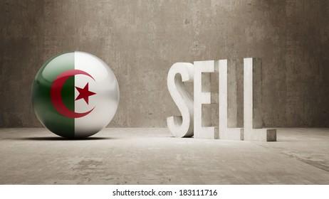 Algeria High Resolution Sell Concept