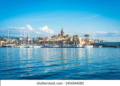 Alghero city in Sassari Province, Sardinia, Italy.