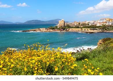 Alghero seacoast, Sardinia, Italy