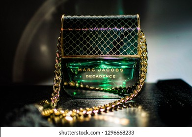 Algiers, Algeria. July 29th 2019 photo of a Marc Jacobs' Decadence 50ml perfume bottle. EDITORIAL USE ONLY