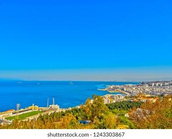 Algiers cityscape, Algeria