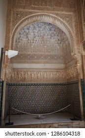 "Alhambra, Andalusia, Spain-02 MARCH 2017: Alhambra, Andalusia, Spain. 02 MARCH 2017: Alhambra""the red""  a palace of architecture highlights, is one of the must visited cultural event in Spain."