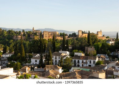 The Alhambra and Albaicín at Golden Hour - Granada, Spain