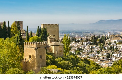 Alhambra, Granada, Andalusia,Spain, Europe
