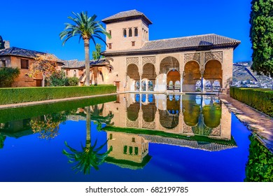 Alhambra, Granada,Andalusia, Spain-The Palace of the Partal