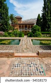 The Alhambra, most famous arab citadel in Granada, Spain
