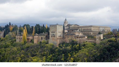 Alhambra Palace in Granada - Spain