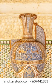Alhambra Vase of the Gazelles, The Great Hall of Comares, Alhambra palace