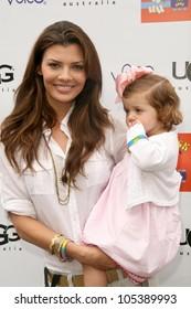 Ali Landry and daughter Estela  at the Third Annual Kidstock Music and Arts Festival. Greystone Mansion, Beverly Hills, CA. 05-31-09